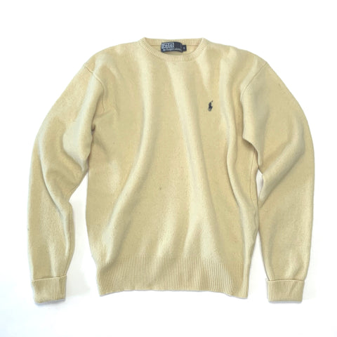 Ralph Lauren - Chunky Jumper, Yellow S