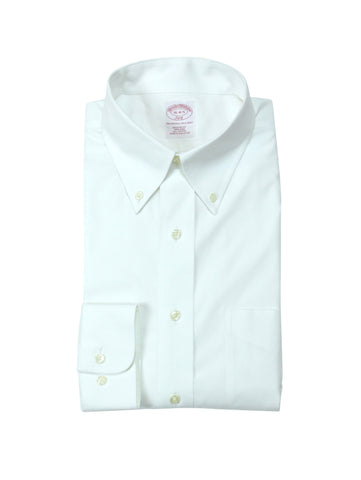 Brooks Brothers White BD Shirt. 41