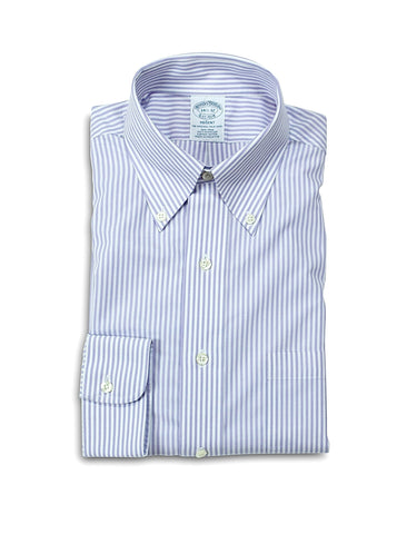 Brooks Brothers Striped BD. Shirt 38