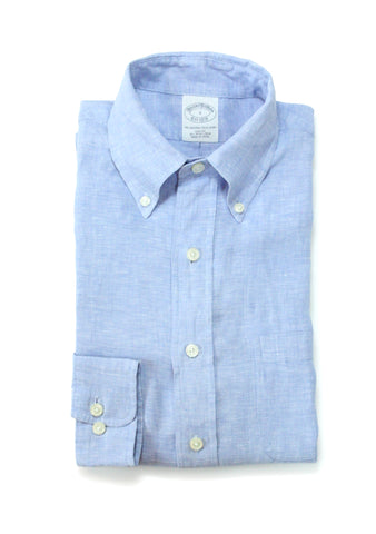 Brooks Brothers Irish linen BD. Shirt S