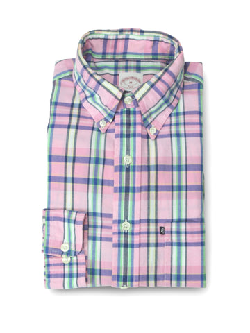 Brooks Broothers BD. Sport check Shirt M (L)