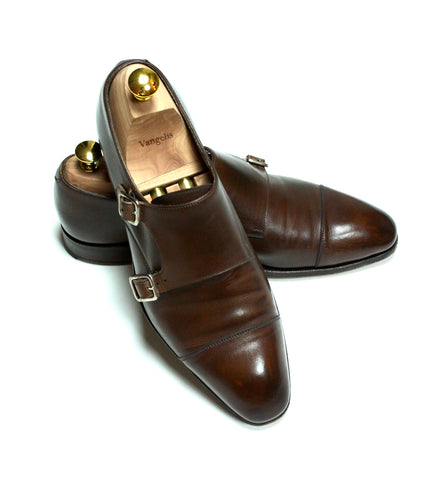 Carmina for Skoaktiebolaget – Double Monk Strap EU 9