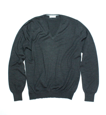 Gran Sasso V-Neck Virgin Wool L