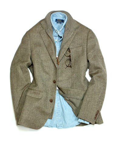 Ralph Lauren - Herringbone Sports Jacket 48