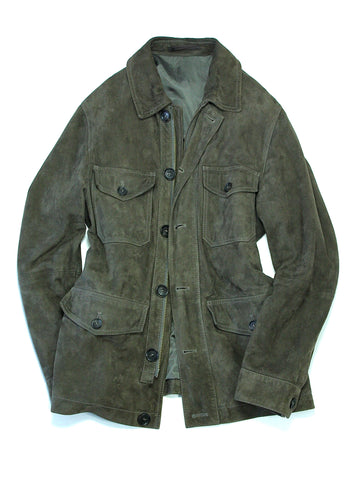 M-65 Field Jacket in Taupe Suede 48