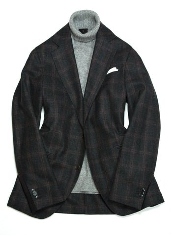 Oscar Jacobson - Wool Check Sports Jacket 50