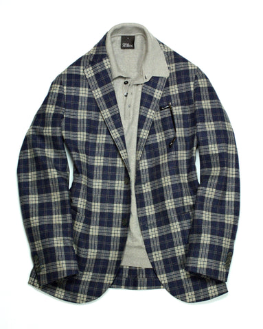 L.B.M. 1911 – Virgin Wool Check Sport Jacket 50