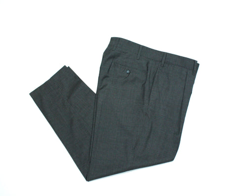 The Gigi – High Rise Single Pleat Wool Trousers 50