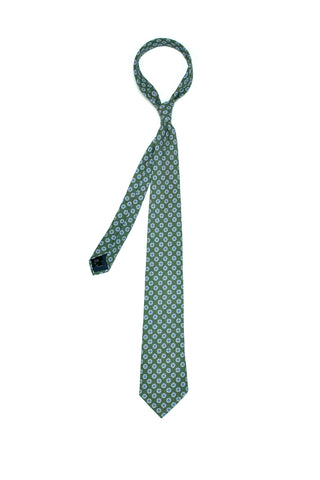 Rose & Born - Green Cotton Flower Tie