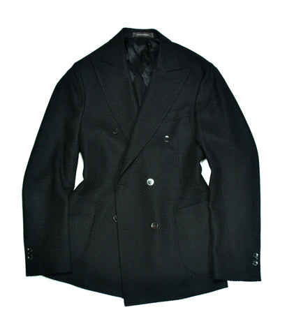 Oscar Jacobson - Black DB. Wool Sports Jacket 52