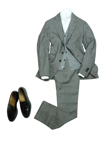 Caruso for Gabucci – Super 110' s Birdseye Wool Suit  48