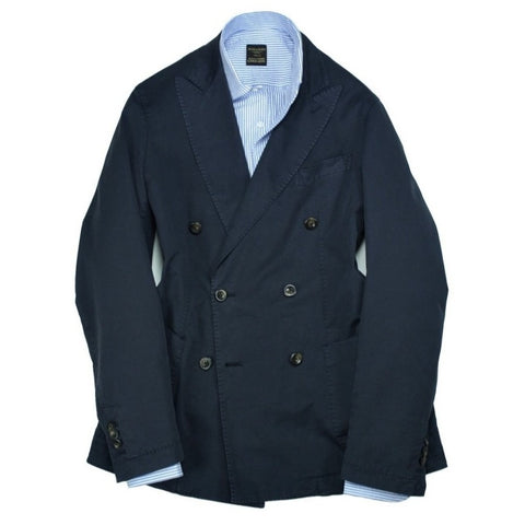Four.Ten – Navy. DB. Cotton Sports Jacket 50