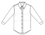 Finamore - Hand Tailored BD. Shirt 41