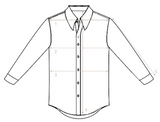 Bruun & Stengade cut-away Shirt 40