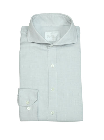 Oscar Jacobson - Light Grey Cut Away Shirt 41