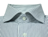 Loro Piana - Striped Cut Away Cotton Shirt 38
