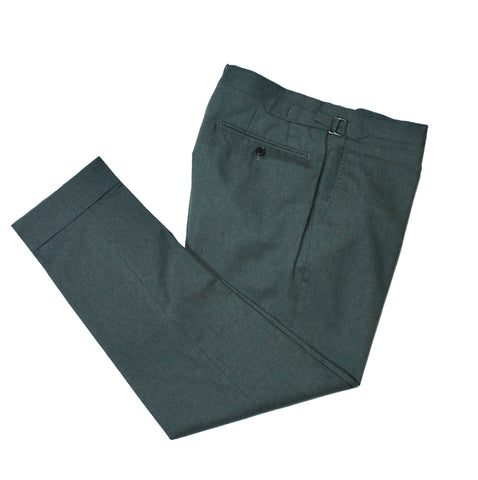 Wool Trousers With Side Adjusters 46