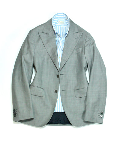 SIR – Light Grey Super 110' s Wool Suit 46
