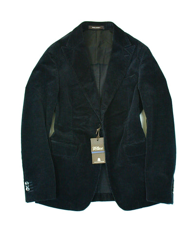 Oscar Jacobson - Navy Corduroy Sports Jacket 48