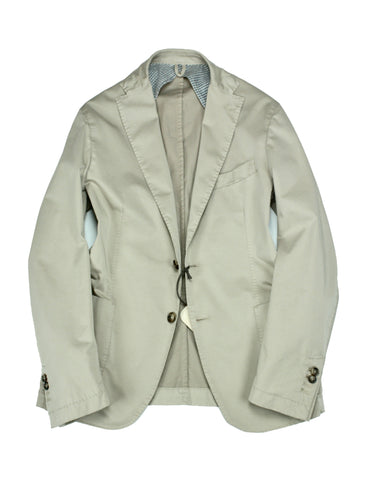 Jerry Key - Beige Cotton Sports Jacket 48