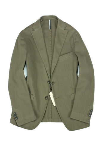 Jerry Key - Washed Green Unconstructed Sports Jacket 48