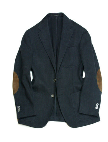 Corneliani - Knitted Virgin Wool Sports Jacket 46