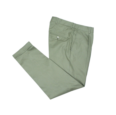 SIR - High Rise Single Pleated Trouser Olive 46