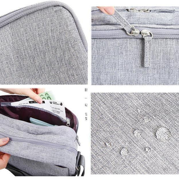 Men's Multi-functional Pocket Luggage Travel Bags