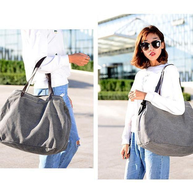 Women Large Capacity Three Compartments Handbags