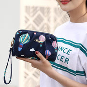 Women's Nylon Clutch Packet Mobile Phone Bag