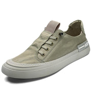 Men Ice Silk Cloth Breathable Non Slip Stylish Casual Shoes