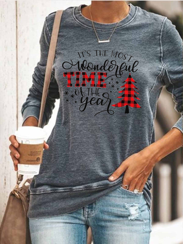 It's The Most Wonderful Time Of The Year Cozy Sweatshirt