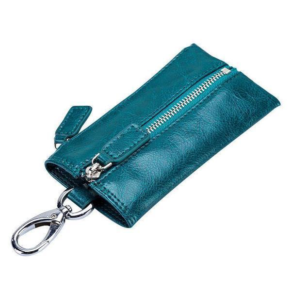 Genuine Leather Small Key Bag Coin Purse