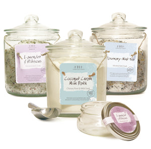 Mineral Bath Soak Jar