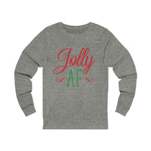 Load image into Gallery viewer, Jolly AF Long Sleeve Tee