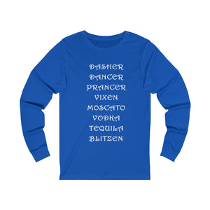 Dasher..Dancer..Prancer BLITZEN Long sleeve