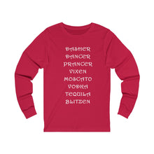 Load image into Gallery viewer, Dasher..Dancer..Prancer BLITZEN Long sleeve