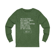 Load image into Gallery viewer, She is Clothed...Fall Long Sleeve