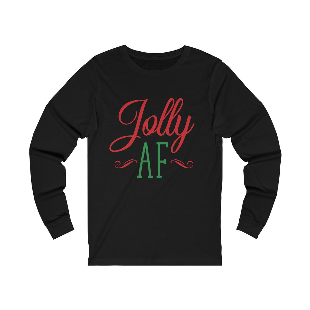 Jolly AF Long Sleeve Tee