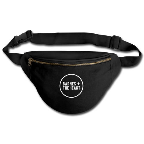 Barnes + The Heart Fanny Pack - black
