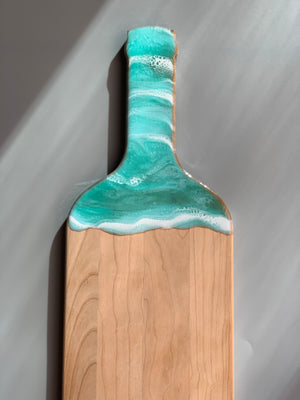 Wine Bottle Cheese Board