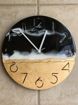 Ocean Art Wall Clock