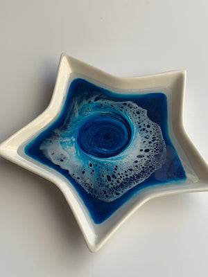 Starry Night Ring Dish: 4'