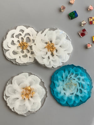 3D FLORAL RESIN ART COURSE: PROMO CODE AT CHECKOUT: JAN2021