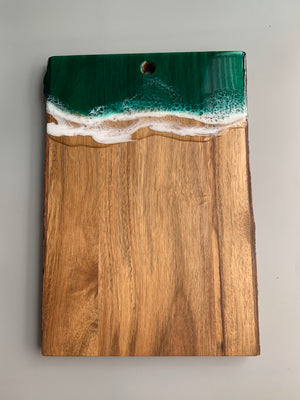 Large Live Edge Serving Board