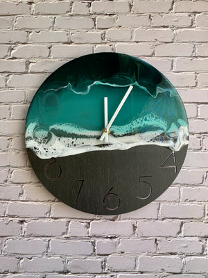 Deep Sea Wall Clock