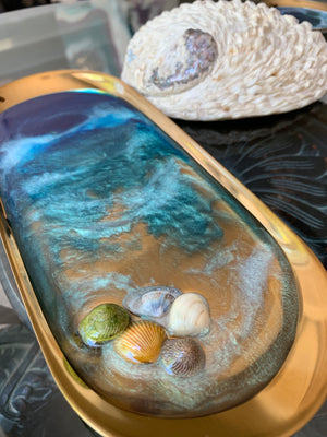 Jewelry/Ring Dish - Ocean