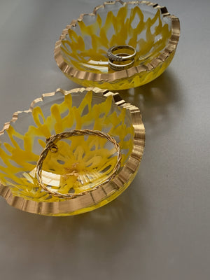 Ring Dish - 3D Floral Art