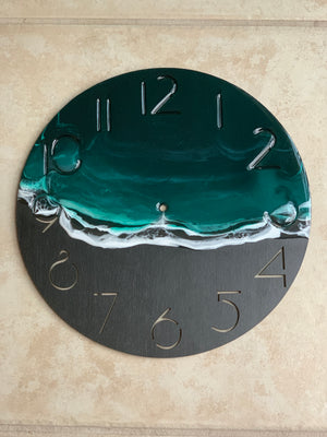Unique Seascape Wall Clock - Calm