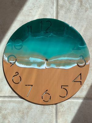 Unique Seascape Wall Clock